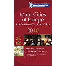 Michelin Red Guide 2010 Main Cities of Europe Restaurants & Hotels