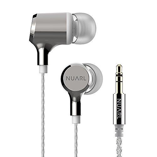 nuarl hdss Abonnements Stereo Kopfhörer nx01a-sw (poliert Silber & Weiß) 【 Japan Domestic echtem Produkte 】 (Twisted Sound Pure)