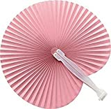 Set 50 unidades Abanico PAI PAI color rosa