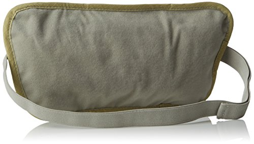 Highlander Double Pocket Money Belt/Wallet ― Anti Chaffing – Adjustable Waist Strap ― Great for Holding Mobiles, Money…