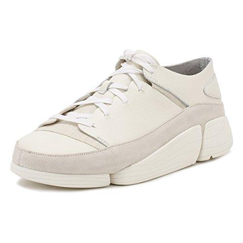 Clarks Hommes Blanc Trigenic Evo Basket