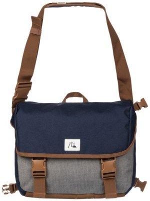 Quiksilver Carrier II Messenger Bag braun - grau - blau