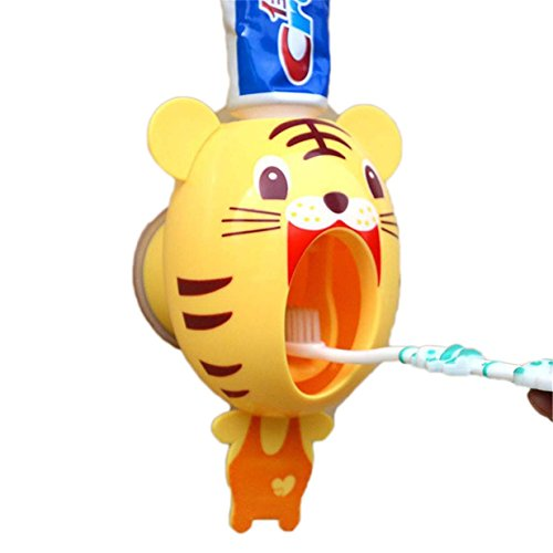 Lalang Cartoon Distributeur Automatique de Dentifrice (tigre)