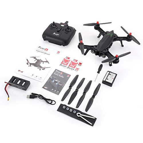 guoxuEE MJX Bugs 6 B6 2.4GHz RTF Drone High Speed 1806 Motor Brushless RC Quadcopter Black