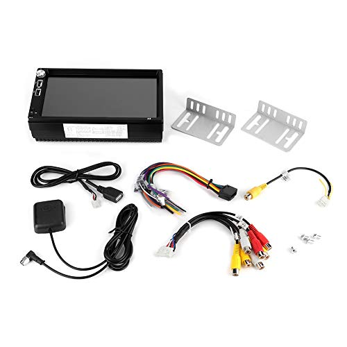 Qinlorgo 7 Zoll 4-Kern Bluetooth 4.0 Auto MP5 Spieler GPS Navigator Radio Player für Android 8.1 -