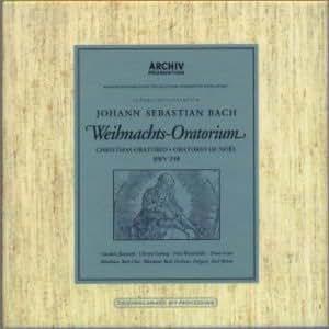 Bach:Weihnachts Oratorium