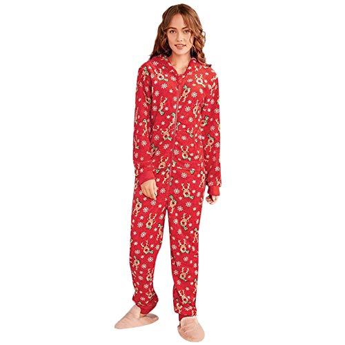 Natale famiglia pigiami interi famiglia coordinazione pantaloni da notte pigiami natale famiglia uomini donne ragazzi ragazze cappuccio famiglia pigiama da notte abbigliamento vestiti per la casa