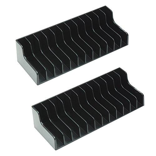 Mondpalast @ MPTECK @ 2x Soporte Almacenamiento de caja de juego 12 asientos discos de juego (24 discos en total) para Nintendo Switch NINTENDO SWITCH