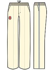 Nuevo Gris Nicolls oficial deportes de equipo Matriz Trim Cricket pantalones adultos y niños tamaño, color azul marino, tamaño xxx-large