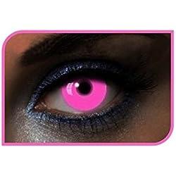AEC le40005blandas color Glow UV duración 1an, Rosa