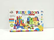 Bestini Building Blocks for Kids | Learning Toys Blocks Non-Toxic Plastic Set of 43 Pcs (Multi-Color)