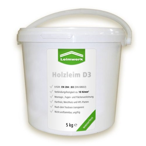 Leimwerk Holzleim wasserfest D3 32kg Eimer