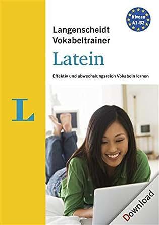 Langenscheidt Vokabeltrainer 7.0 Latein [PC Download]
