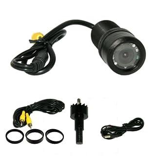 akhan CAM01 Universal 12V Farb Rückfahrkamera für Tag und Nacht