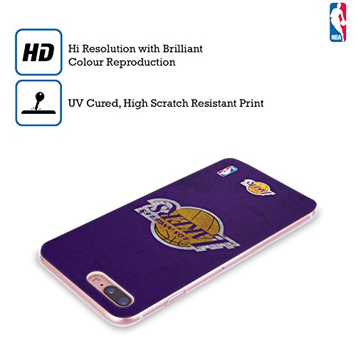 Ufficiale NBA Camouflage Digitale Los Angeles Lakers Cover Morbida In Gel Per Apple iPhone 6 / 6s Rovinato