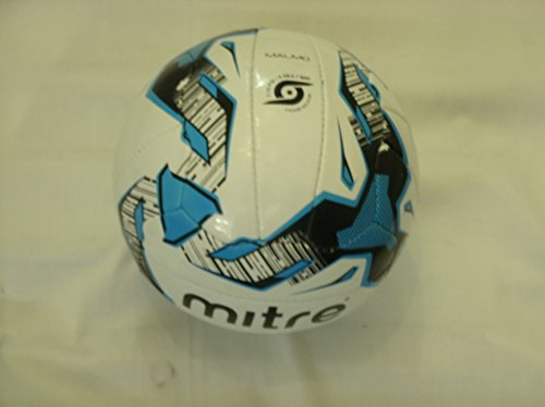 mitre-malmo-training-football-size-4-white-blue-black-pack-of-10-balls