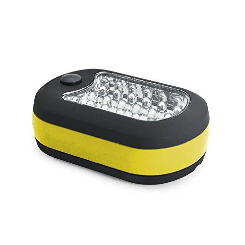 Grenhaven LED Arbeitslampe mit 24 + 3 Power LED, Werkstattlampe Campinglampe Taschenlampe Campingbeleuchtung Mobile LED Lampe Camping Outdoor Leuchte Schrankleuchte Zeltlampe