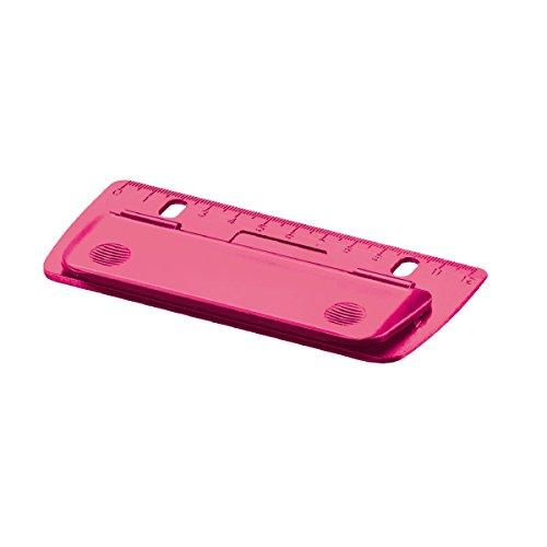 """Herlitz Taschenlocher \""""pink\"""" / Mini Locher / abheftbar"""