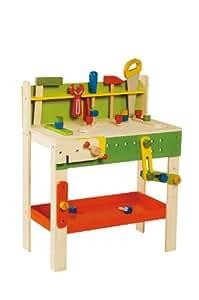 everearth ee33552 gro e werkbank spielzeug. Black Bedroom Furniture Sets. Home Design Ideas