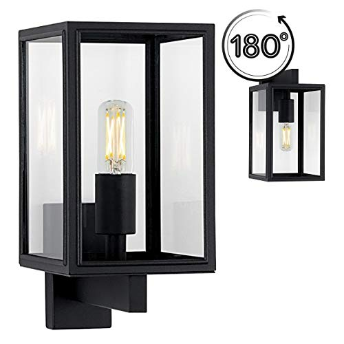 Moderne Außenwandleuchte Soho in Schwarz - Soho-beleuchtung