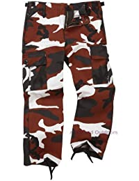 Youths / Kids Colourful Combat Trousers