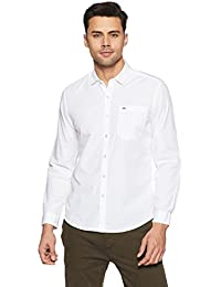 [Sponsored]Lee Men's Solid Slim Fit Casual Shirt