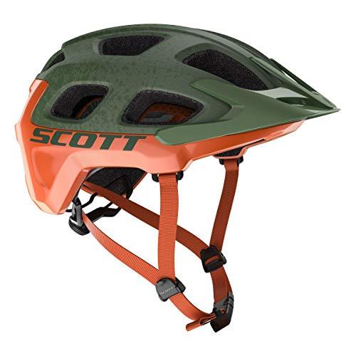 SCOTT Helm Vivo Plus mtl gren/Org M Unisex Erwachsene