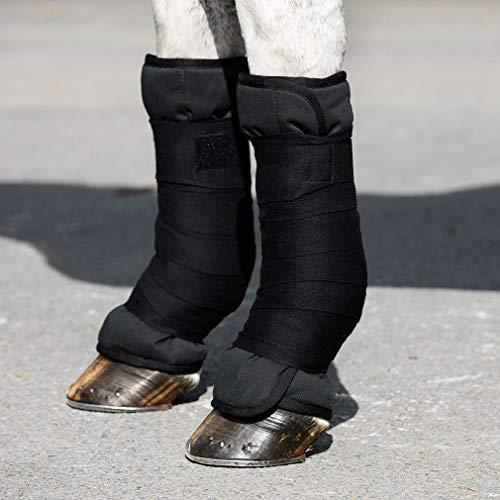 Horseware Rambo Ionic Wraps schwarz wählbare Größe (XFull (45cmx60cm))