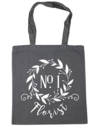 hippowarehouse-number-one-florist-floral-reef-tote-shopping-gym-beach-bag-42cm-x38cm-10-litres
