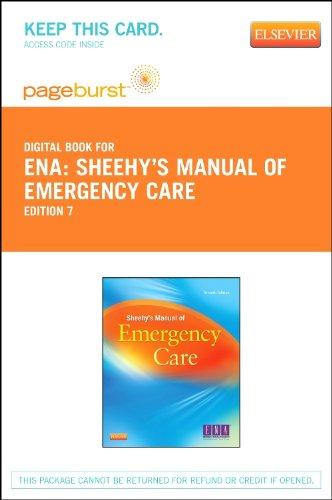 sheehy s manual of emergency care