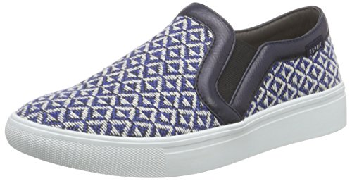 Esprit Lizette Slip On, Baskets Basses Femme Bleu - Blau (415 ink)