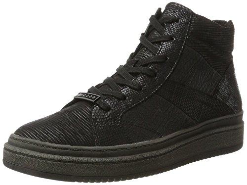 Tamaris 25224, Sneaker a Collo Alto Donna Nero (Black Comb)