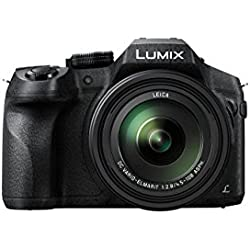 Panasonic Lumix Appareil Photo Bridge Tropicalisé DMC-FZ300EFK (Capteur 12MP, Zoom Lumix 24x, F2.8 constant, Viseur OLED, Ecran tactile orientable, Vidéo 4K, Stabilisé) Noir - Version Française