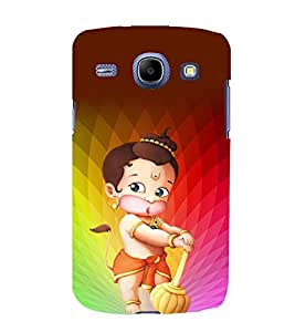 printtech Lord God Hanuman Small Cartoon Back Case Cover for Samsung Galaxy J2 / Samsung Galaxy J2 J200F