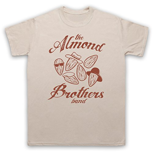 Almond Brothers Band Rock Band Herren T-Shirt Beige