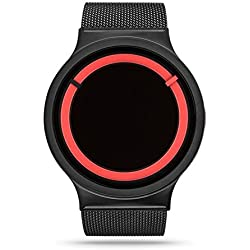 ZIIIRO Watch - Eclipse Metallic - Black/Red