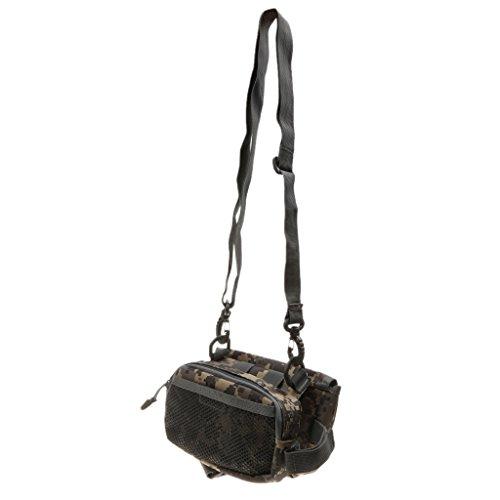 Praktische Wasserdichte Gürteltasche Fahrrad Frontrahmen Gepäcktasche Rahmentaschen Steuerrohr Taschen ACU-Tarnung