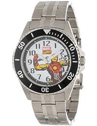 Marvel Comics Herren W000525 Iron Man Honor Stainless Steel Bracelet Uhr