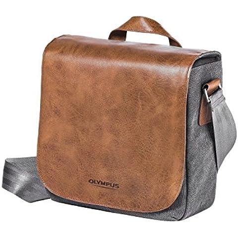 Olympus OM-D Messenger Bag Mini - Funda de piel para cámara