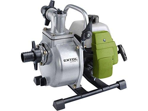 Extol Craft Bomba de agua, 1,5kW, gasolina, de estanque/Jardín Bomb