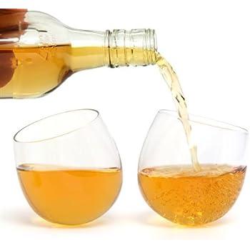 ckb ltd 2 st ck rocken whisky gl ser ohne stiel rund boden neuheit lustiges geschenk set 300. Black Bedroom Furniture Sets. Home Design Ideas