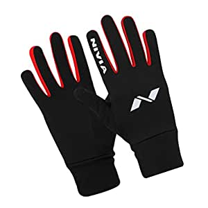 Nivia 1105L1 Lycra-Spandex Gym and Running Gloves