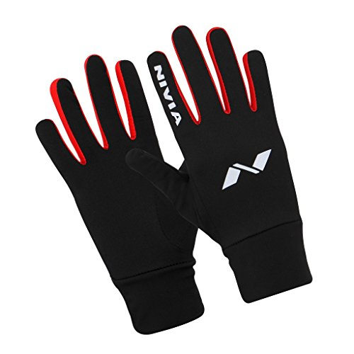 Nivia 1105L1  Lycra-Spandex Gym and Running Gloves, Large (Black)  available at amazon for Rs.580