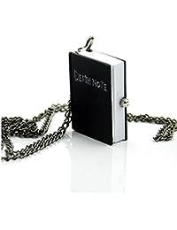 """Collar de reloj de bolsillo Death Note Vintage Portable Death Note Cosplay Idea Gift Man Unisex Mujer"""","""