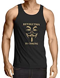 Singlete The Revolution Is Coming - the Anonymous hackers mask