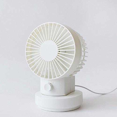ZYUSHIZ Mini Usb Desk Fan Multicolore Silent Quattro Fan Di