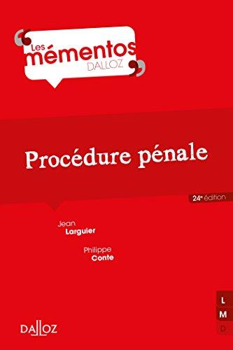 Procédure pénale - 24e éd.