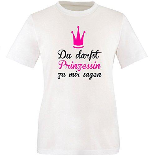 nzessin zu mir sagen Kinder T-Shirt (Teen Kostüme Elsa)