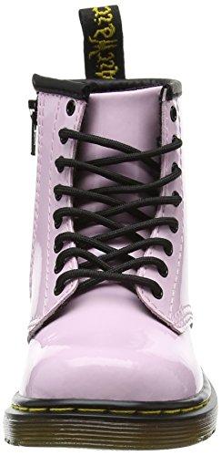 Dr. Martens Unisex-Kinder Brooklee Kurzschaft Stiefel, Babyrosa Pink (Baby Pink Patent Lamper)