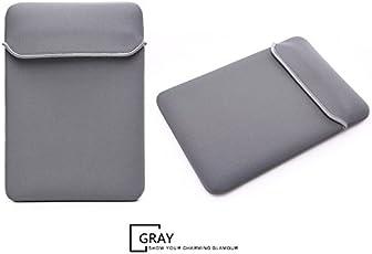 Moca Soft Neoprene Bag Sleeve Cover For Macbook Pro 13 Inch 13.3 / Macbook Air 13 Inch 13.3 / Macbook Pro With Retina 13 Inch 13.3 (Gray)